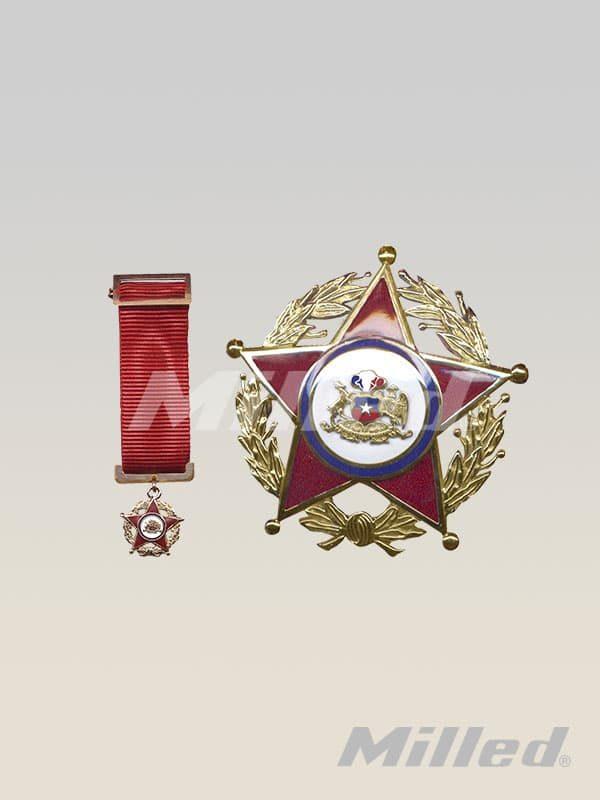 Condecoración Gran Oficial de Oro