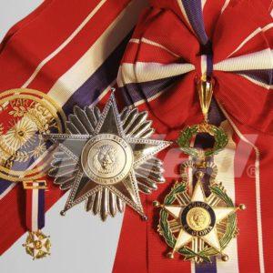 Condecoración Orden al Mérito Nacional Grado Gran Cruz Paraguay