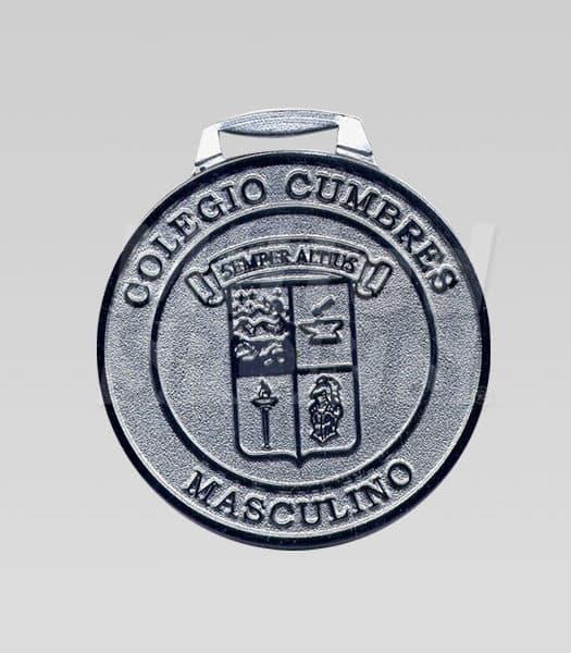 Medalla Colegio Cumbres