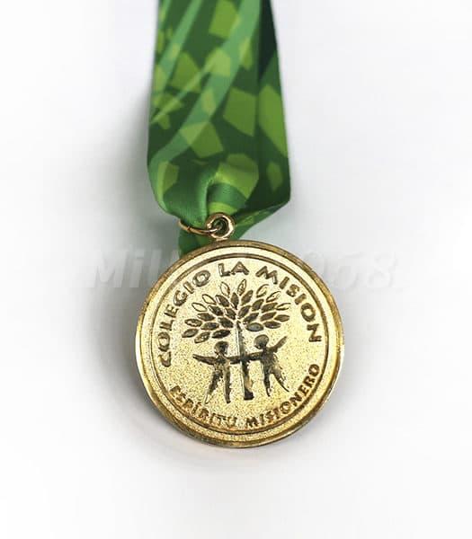 Medalla Colegio La Misión
