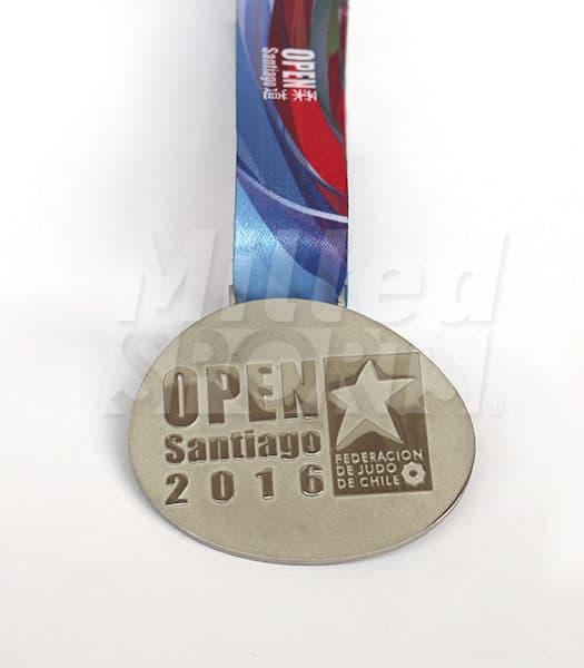 Medalla Santiago Open Judo 2016