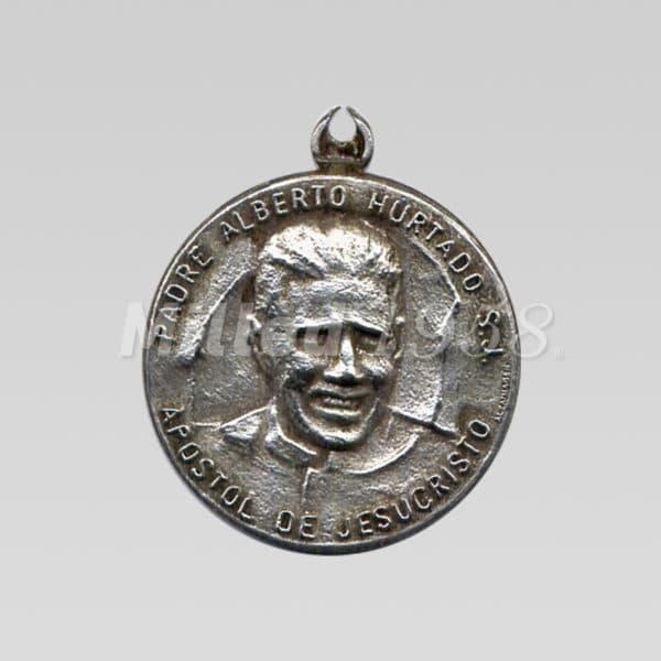 Medallita San Alberto Hurtado
