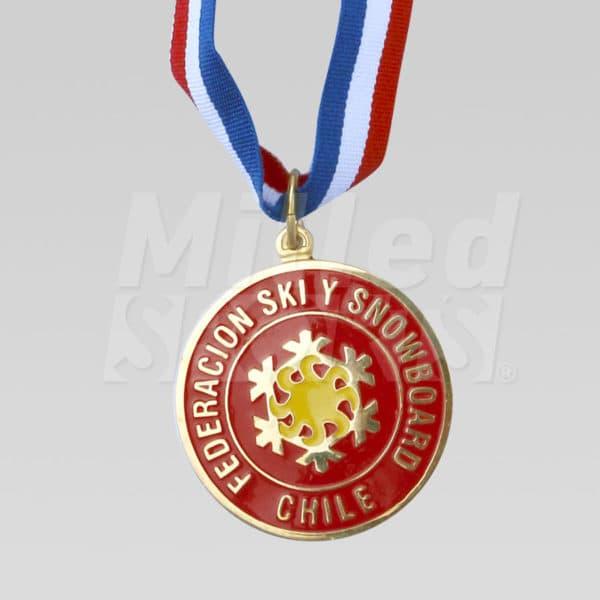 Medalla Federación de Ski y Snowboard de Chile