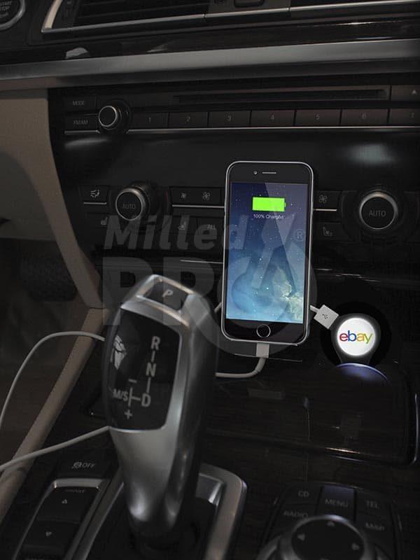 Bulb - USB Car Charger